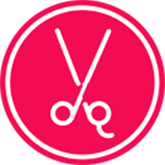 Cosmetology Hybrid Logo